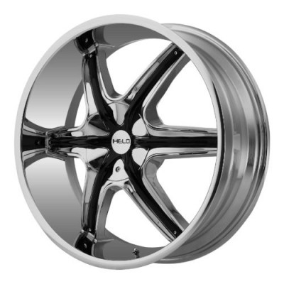 Helo HE891 Chrome wheel (22X9, , 72.60, 10 offset)