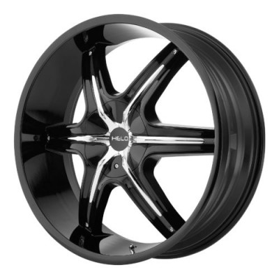 Helo HE891 Gloss Black Machine wheel (22X9, , 72.60, 10 offset)