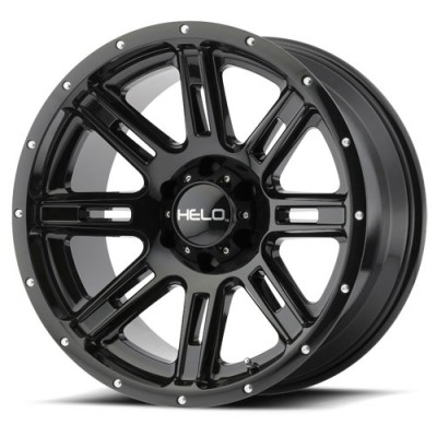 Helo HE900 Gloss Black wheel (20X10, 6x139.7, 106.25, -24 offset)