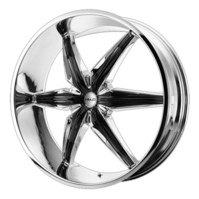 Helo Wheels HE866 Chrome Black Insert wheel (20X8.5, 5x150, 110.5, 10 offset)