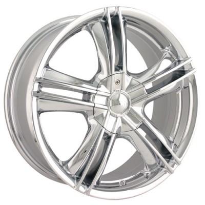 Alloy Ion 161 Chrome wheel (15X7, 4x100/114.3, 67.1, 40 offset)