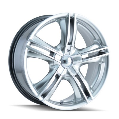 Alloy Ion 161 Machine Hyper Silver wheel (15X7, 4x100/114.3, 67.1, 40 offset)