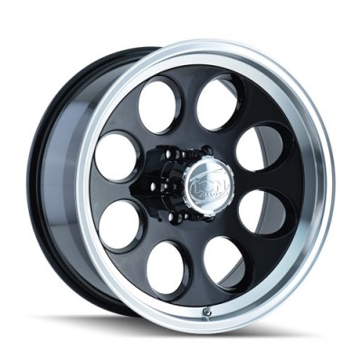 Ion 171 Machine Black wheel (15X8, 5x120.65, 83.82, -27 offset)