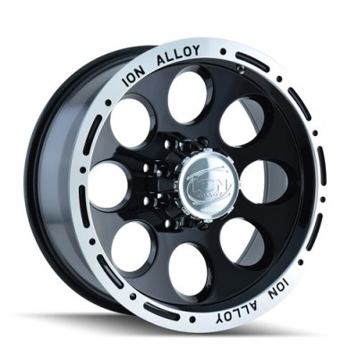 Ion 174 Machine Black wheel (15X8, 5x120.65, 83.82, -27 offset)