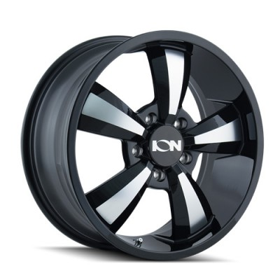 Ion 102 Gloss Black Machine wheel (18X8, 5x130, 84.1, 50 offset)