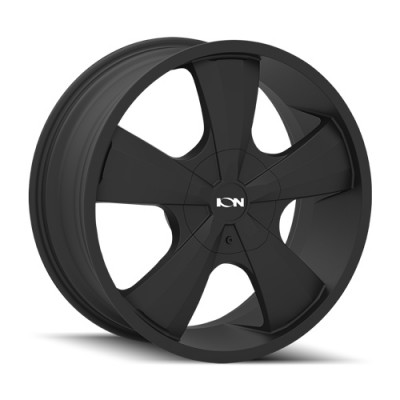 Ion 103 Satin Black wheel | 18X8, 6x120/132, 74.5, 30 offset