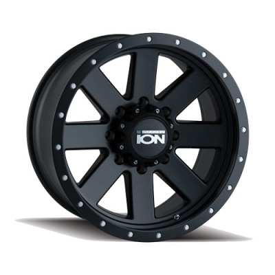 Ion 134 Matte Black wheel (20X10, 6x135, 87, -19 offset)