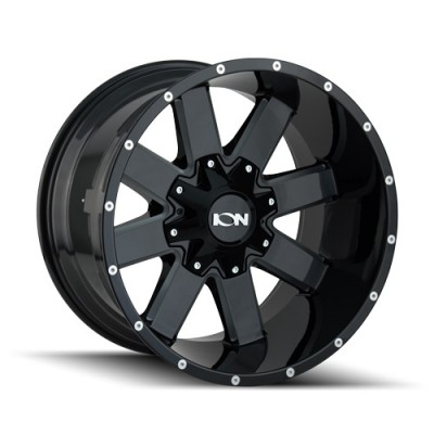 Ion 141 Gloss Black Machine wheel (20X10, 6x135/139.7, 106, -19 offset)