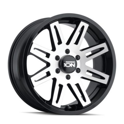 Ion 142 Machine Black wheel (17X9, 6x139.7, 106, -12 offset)