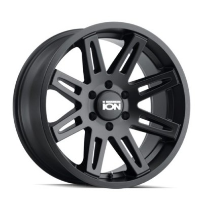 Ion 142 Matte Black wheel (17X9, 5x127, 78.1, -12 offset)