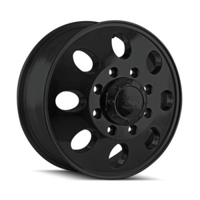 Ion 167 Matte Black wheel (17X6.5, 8x200, 142, 125.3 offset)