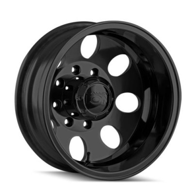 Ion 167 Matte Black wheel (17X6.5, 8x200, 142, -142 offset)