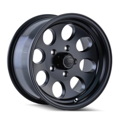 Ion 171 Matte Black wheel (15X8, 5x127, 83.82, -27 offset)