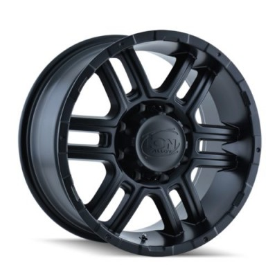 ION 179 Matte Black wheel (17X8, 6x135, 87, 10 offset)