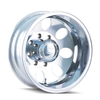 ION Alloy 167-Rear Polished wheel (17X6.5, 8x200, 142.2, -142 offset)