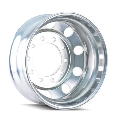 Ionbilt IB01P Polished wheel (22.5X8.25, 10x285.75, 220.1, 169 offset)