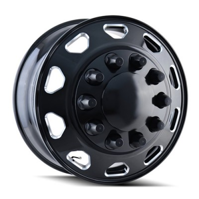 Ionbilt IB02 Black wheel (24.5X8.25, 10x285.75, 220.1, 168 offset)