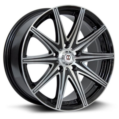 IXION IX001 Machine Black wheel (17X7.5, 5x108, 73.1, 45 offset)