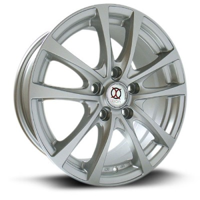 IXION IX002 Silver wheel (14X6, 4x100, 73.1, 38 offset)