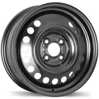 Fast Wheels Premium Euro Steel Wheel Black wheel | 15X5.5, 4x100, 60.1, 40 offset