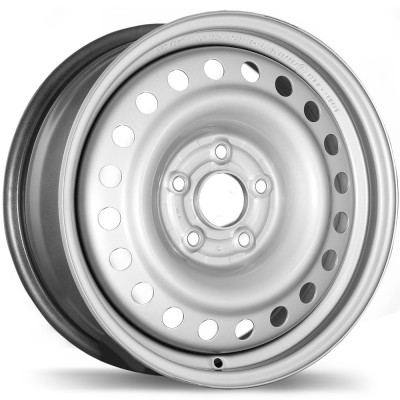 Fast Wheels Premium Euro Steel Wheel Silver wheel | 16X6.5, 5x114.3, 64.1, 45 offset