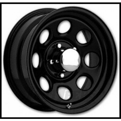 Keystone 252 Series Black wheel (15X8, 5x114.3, 130.1, -12 offset)