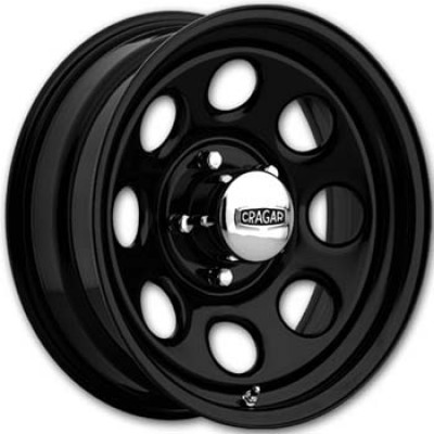 Keystone 297 Series Black wheel (15X8, 5x127, 130.1, 6 offset)