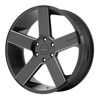 KMC Wheels MC 5 Satin Black wheel (20X8.5, 6x120, 66.9, 15 offset)