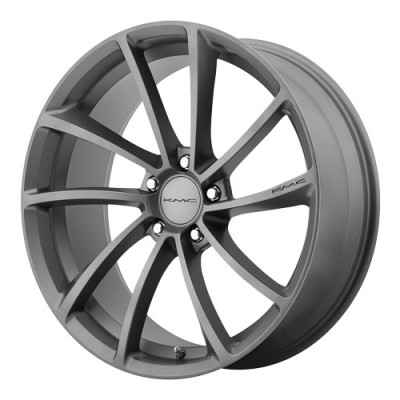KMC Wheels Spin Gun Metal wheel (20X10, 5x114.3, 72.6, 40 offset)