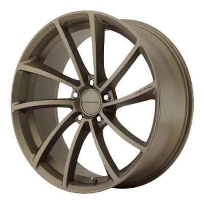 KMC Wheels Spin Matte Bronze wheel (20X10, 5x112, 72.6, 40 offset)