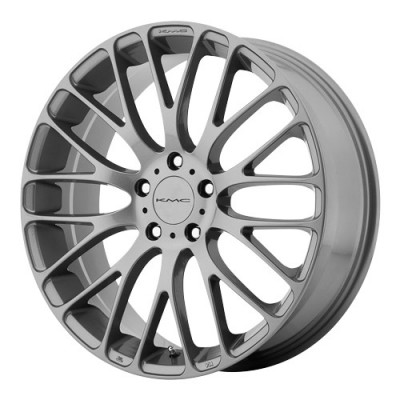 KMC Wheels Maze Grey wheel (18X8, 5x108, 72.6, 40 offset)