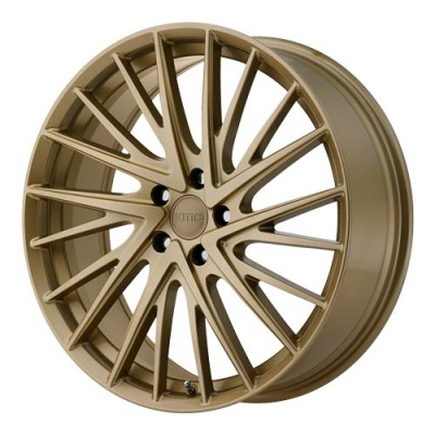 KMC Wheels Newton Gold wheel (18X8, 5x112, 66.56, 35 offset)