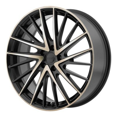 KMC Wheels Newton Machine Black wheel (20X8.5, 5x112, 66.56, 35 offset)