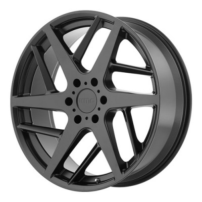 KMC Wheels KM699 Satin Black wheel (22X9, 5x114.3, 72.6, 35 offset)