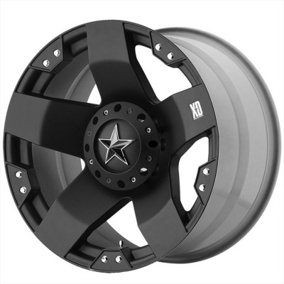 KMC Wheels Rockstar Matte Black wheel (20X10, 5x112, 130.1, 35 offset)