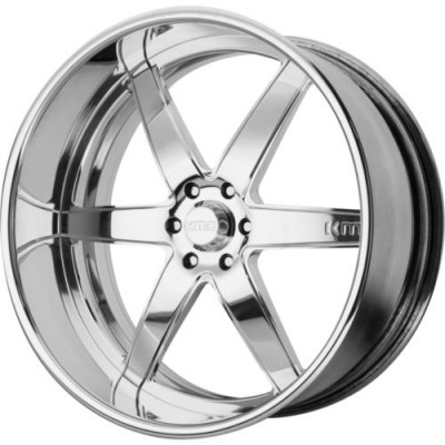 KMC KM401 Chrome wheel (18X8, , 72.6, 0 offset)