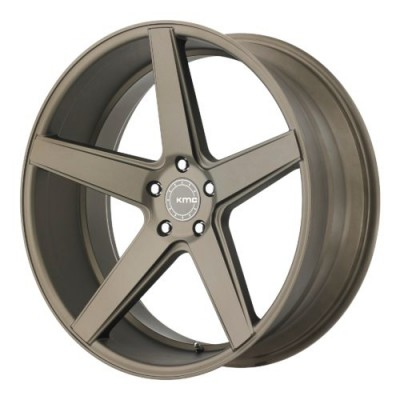 KMC KM685 DISTRICT Matte Bronze wheel (20X10.5, 5x120, 74.10, 45 offset)