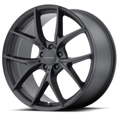 KMC KM694 WISHBONE Satin Black wheel (20X8.5, 5x114.3, 72.60, 38 offset)