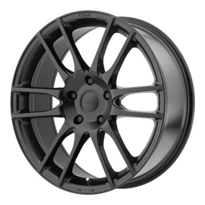 KMC KM696 PIVOT Satin Black wheel (20X9.5, 5x127, 72.60, 48 offset)