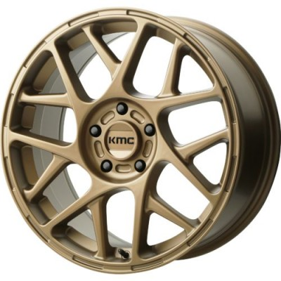 KMC KM708 BULLY Matte Bronze wheel (15X7, 5x100, 72.60, 10 offset)
