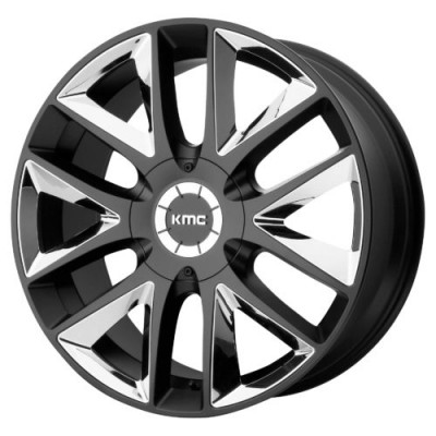 KMC KM710 TAKEDOWN Machine Black wheel (20X8.5, 6x135/139.7, 100.50, 38 offset)