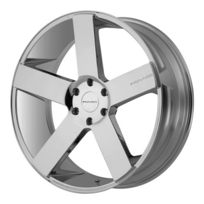 KMC MC 5 Chrome Plated wheel (22X9, 6x139.7, 106.25, 15 offset)