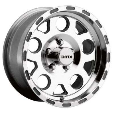 KMC Wheels ENDURO Machine Silver wheel (16.00X8.00, 6x139.70, 108, 0 offset)