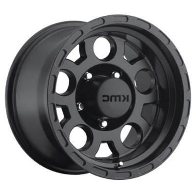 KMC Wheels ENDURO Matte Black wheel (16.00X8.00, 6x139.70, 108, 0 offset)