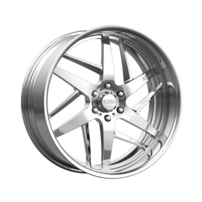 KMC Wheels KM400 Chrome wheel (18X8, , 72.6, 0 offset)