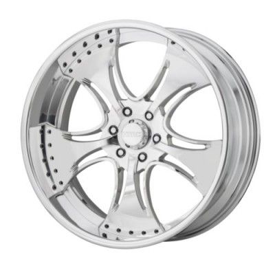 KMC Wheels KM403 Polished wheel (18X11, , 72.6, 0 offset)