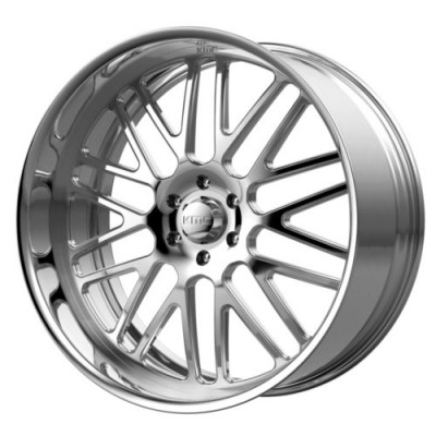 KMC Wheels KM404 Polished wheel (18X11, , 72.6, 0 offset)