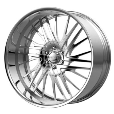 KMC Wheels KM405 Polished wheel (18X11, , 72.6, 0 offset)