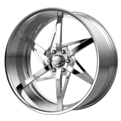 KMC Wheels KM406 Polished wheel (18X11, , 72.6, 0 offset)