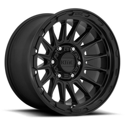 KMC Wheels KM542 IMPACT Satin Black wheel (17X9, 6x135, 87.1, 18 offset)